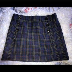 Plaid Gap Mini Skirt - NWOT